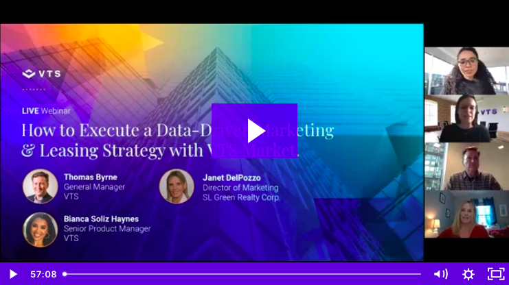 VTS Webinar | How to Execute a Data-Driven Marketing & Leasing Strategy With VTS Market